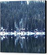 On Donner Canvas Print by Donna Blackhall