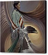 On Sacred Ground Series I Canvas Print by Ricardo Chavez-Mendez