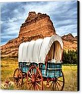 On The Oregon Trail 3 Canvas Print by Mel Steinhauer