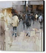On The Street Canvas Print by Tibor Nagy