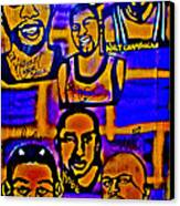 Once A Laker... Canvas Print by Tony B Conscious