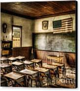 One Room School Canvas Print by Lois Bryan