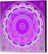 Oneness And Unity Canvas Print by Sarah  Niebank