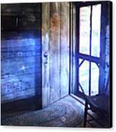 Open Cabin Door With Orbs Canvas Print by Jill Battaglia