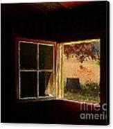 Open Cabin Window II Canvas Print by Julie Dant