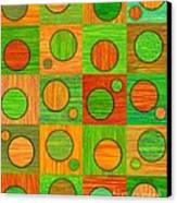 Orange Soup Canvas Print by David K Small