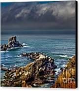 Oregon Coast Canvas Print by Robert Bales