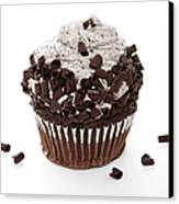 Oreo Cookie Cupcake Canvas Print by Andee Design