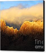 Organ Mountains Symphony Of Light Canvas Print by Bob Christopher