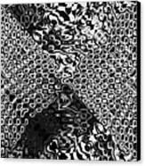 Organic Optical Illusion 8 Canvas Print by The Art of Marsha Charlebois