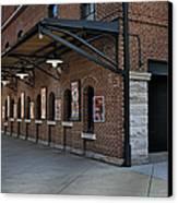 Oriole Park Box Office Canvas Print by Susan Candelario