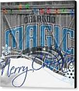 Orlando Magic Canvas Print by Joe Hamilton