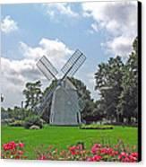 Orleans Windmill Canvas Print by Barbara McDevitt
