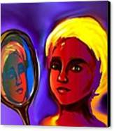Oshun -goddess Of Love Canvas Print by Carmen Cordova
