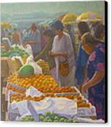 Otara Market. Auckland Nz. Canvas Print by Terry Perham