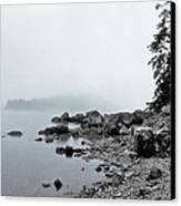 Otter Cliffs Canvas Print by Joann Vitali