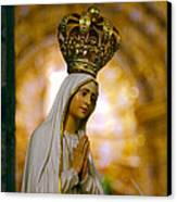 Our Lady Of Fatima Canvas Print by Gaspar Avila