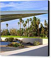 Overhang Palm Springs Tram Station Canvas Print by William Dey