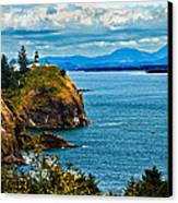 Overlooking Canvas Print by Robert Bales