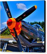 P-51 Mustang - Speedball Alice Canvas Print by David Patterson