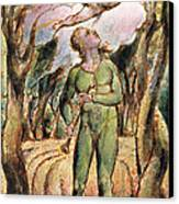 P.125-1950.pt2 Frontispiece Plate 2 Canvas Print by William Blake