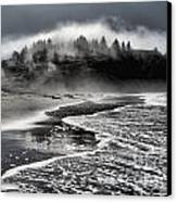 Pacific Island Fog Canvas Print by Adam Jewell