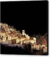 Paesaggio Scuro Canvas Print by Guido Borelli