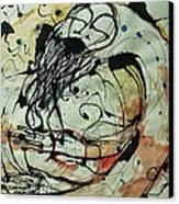 Pain Erupts Everywhere Original Canvas Print by Mark M  Mellon
