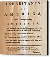 Paine: Common Sense, 1776 Canvas Print by Granger
