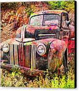Painted Ford Canvas Print by Robert Jensen