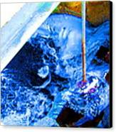 Painting With Water Canvas Print by Mike McCool