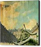 Palace And Park Of Versailles Unesco World Heritage Site Canvas Print by Catf
