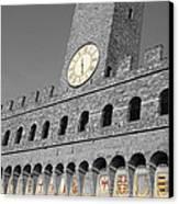 Palazzo Vecchio At Florense Canvas Print by Aleksandar Hajdukovic
