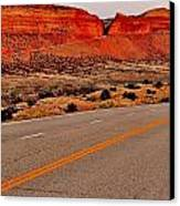 Parallel Lines Canvas Print by Benjamin Yeager