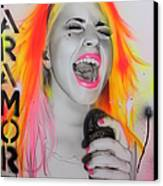 'paramore' Canvas Print by Christian Chapman