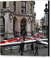 Paris France - Street Scenes - 0113115 Canvas Print by DC Photographer