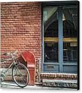 Parked Canvas Print by Johnny Lam