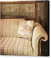 Parlor Seat Canvas Print by Margie Hurwich