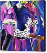 Pas De Deu Canvas Print by Ted Azriel