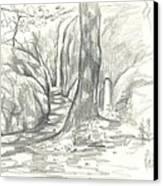 Passageway At Elephant Rocks Canvas Print by Kip DeVore