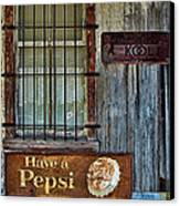 Past Vices Canvas Print by Wendy J St Christopher