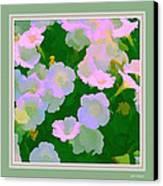 Pastel Flowers II Canvas Print by Tom Prendergast