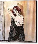 Pastel Passion Canvas Print by Shlomo Zangilevitch