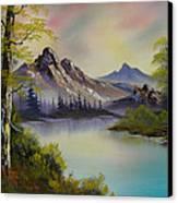 Pastel Skies Canvas Print by C Steele