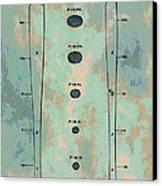 Patent Art Baseball Bat Canvas Print by Dan Sproul