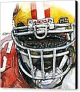 Patrick Willis - Force Canvas Print by Michael  Pattison