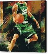 Paul Pierce Canvas Print by Christiaan Bekker