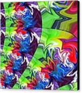 Peacock Canvas Print by Chris Butler