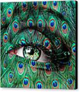Peacock Canvas Print by Yosi Cupano