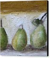 Pears Canvas Print by Venus